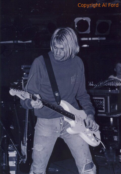 Cobain playing The Forge in Victoria,