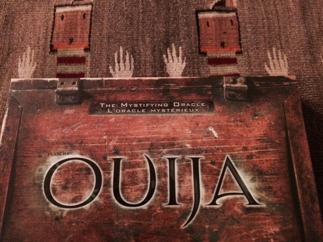 photo of a Ouija game.