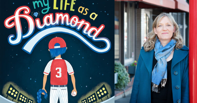 My Life As a Diamond, book cover, with Jenny Manzer.